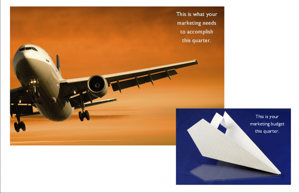 New Postcard - Paper Airplanes