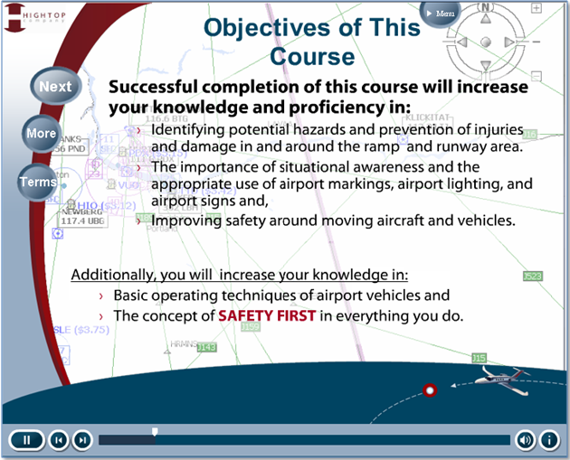 Ramp Safety Course Objectives