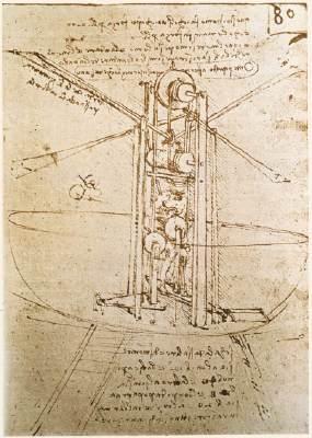 Leonardo Da Vinci - one of the first aviation geeks.