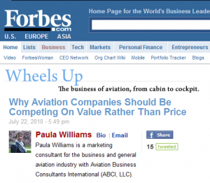 This article was first published at Forbes.com on the Wheels Up Business Aviation blog.