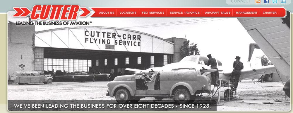 Cutter Aviation Website