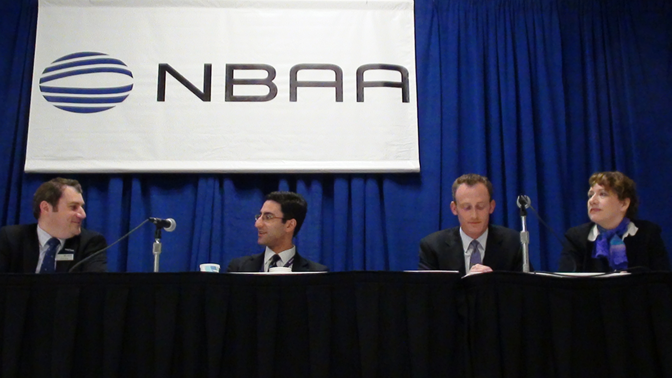 Needa speaker? NBAA convention