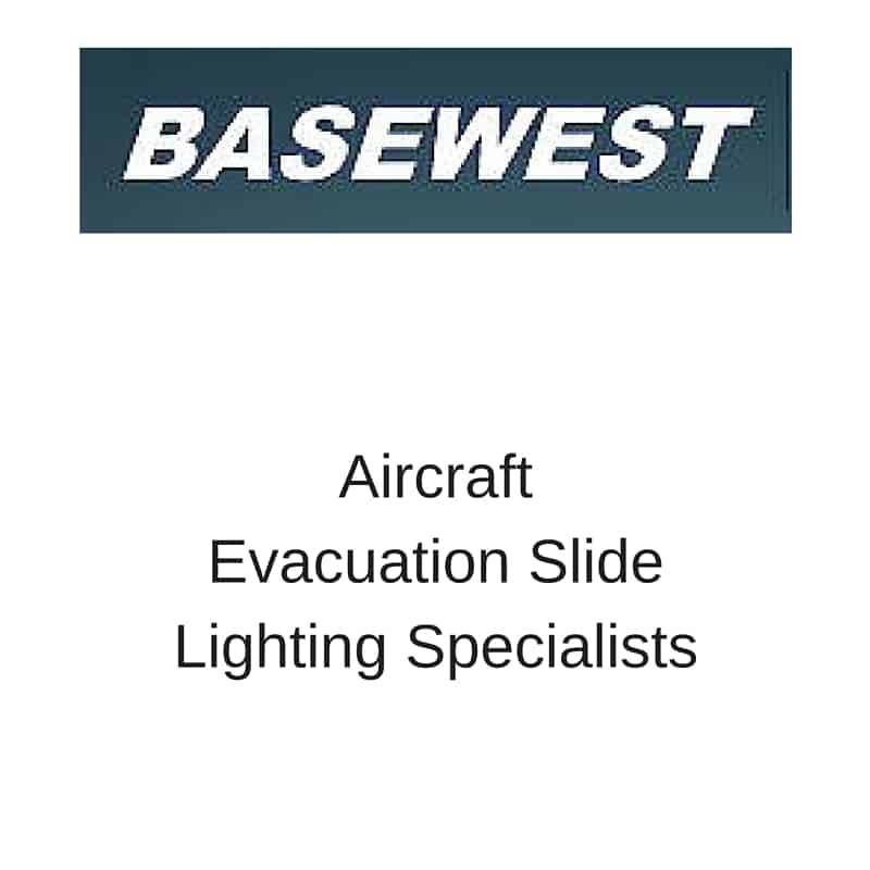 Basewest aircraft evacuation slide lighting specialists