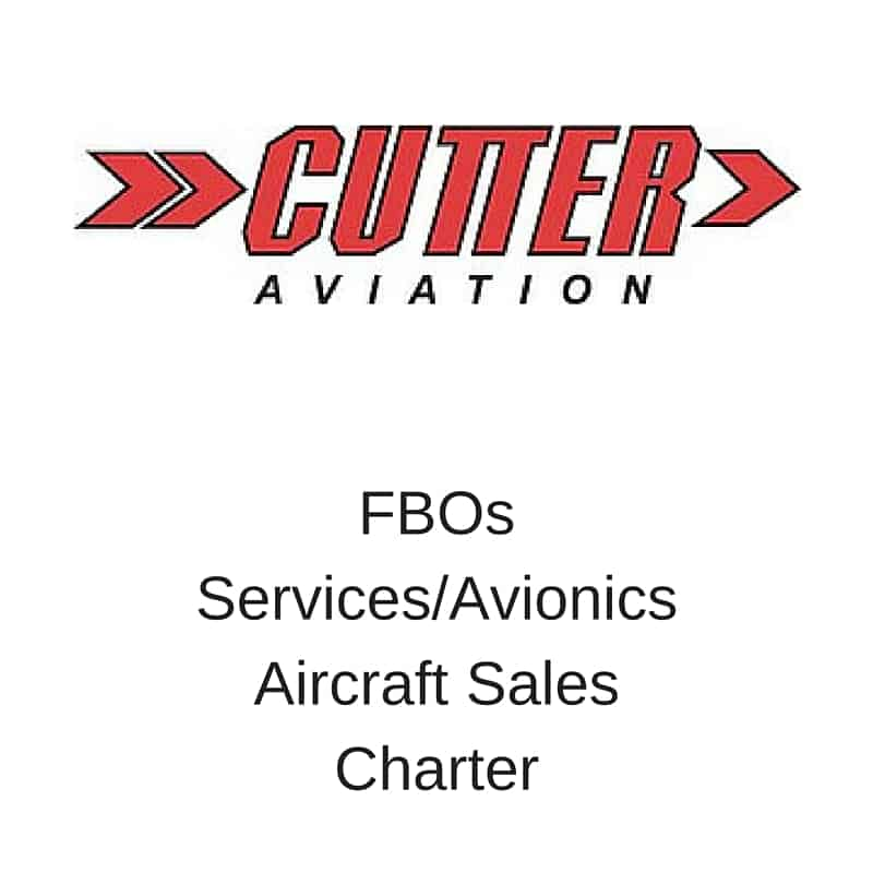 Cutter Aviation FBOs Services Avionics Aircraft Sales Charter