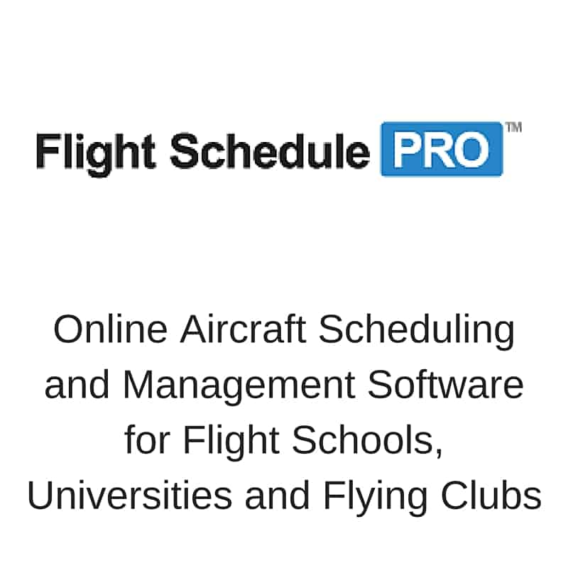 Online Aircraft Scheduling and Managemnet Software for Flight Schools, Universities and Flying Clubs