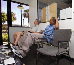 Flight instructor Sales Training can help improve flight school business. Rick Sharp, left, and Tomas Martinez wait for a potential flying school student at the Long Beach Flying Club and Flight Academy. (Steven Georges Staff Photographer) http://www.presstelegram.com/news/ci_12336297