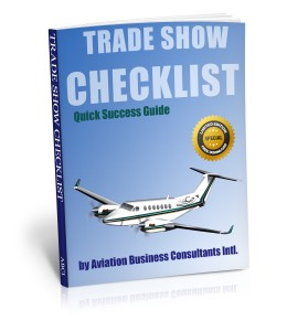 Aviation Trade Show Checklist
