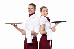 waiters 300x199 Sales and Customer Service   Style, Substance, or Both?
