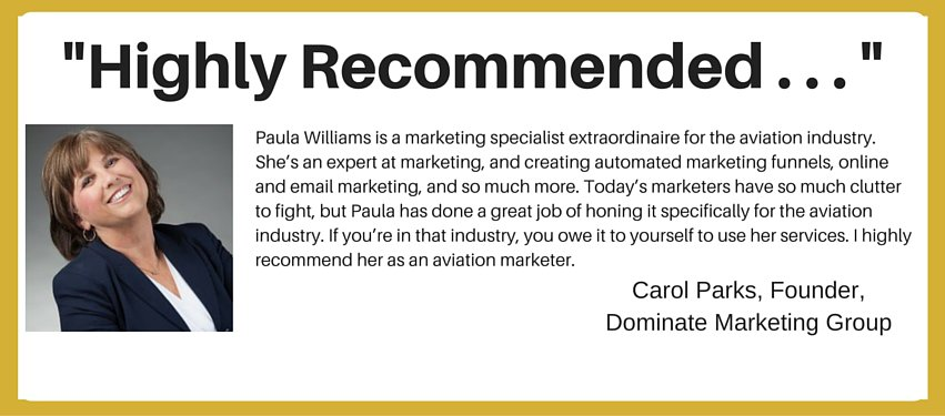 international aviation marketing - highly recommended