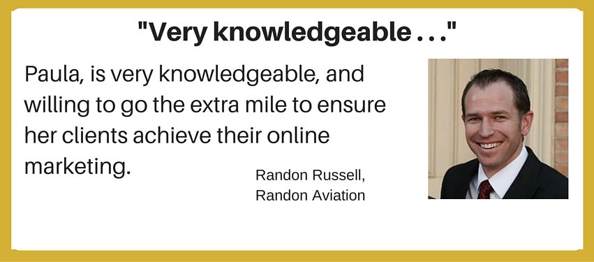 international aviation marketing testimonial - very knowledgeable