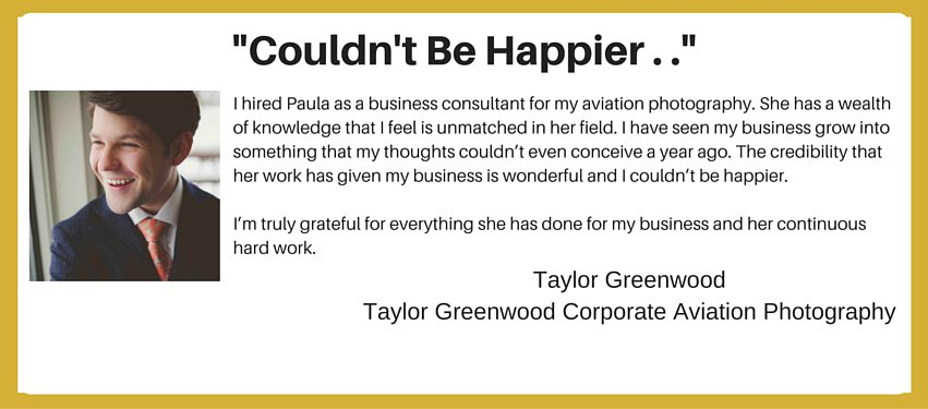 international aviation marketing testimonial - couldn't be happier!
