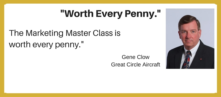 international aviation marketing testimonial - worth every penny