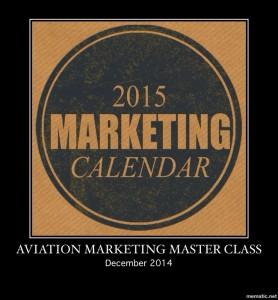 Aviation Marketing Webinar- Your Marketing Calendar