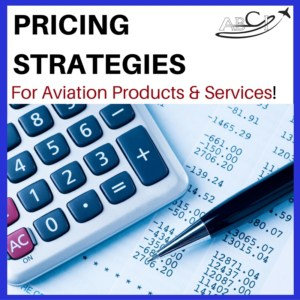 Blog post ad - pricing strategies for aviation products and services