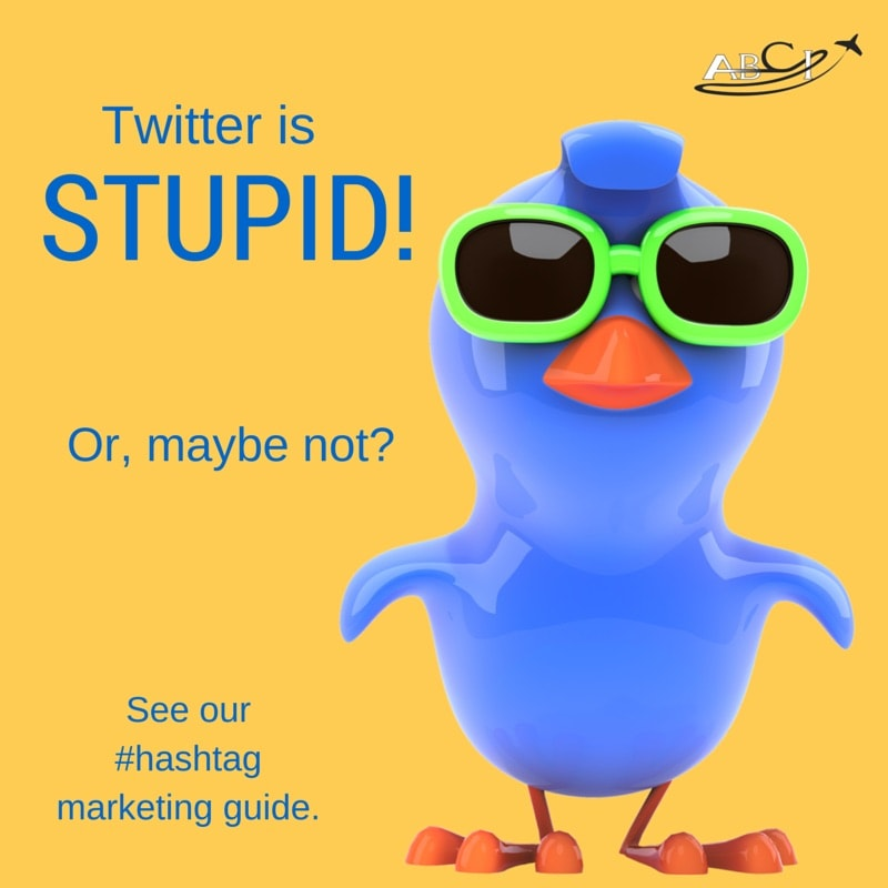Aviation hashtag marketing, and more about Twitter