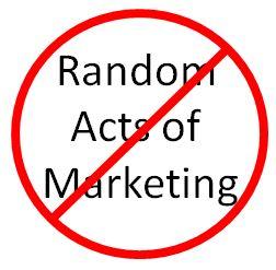 Random acts of marketing