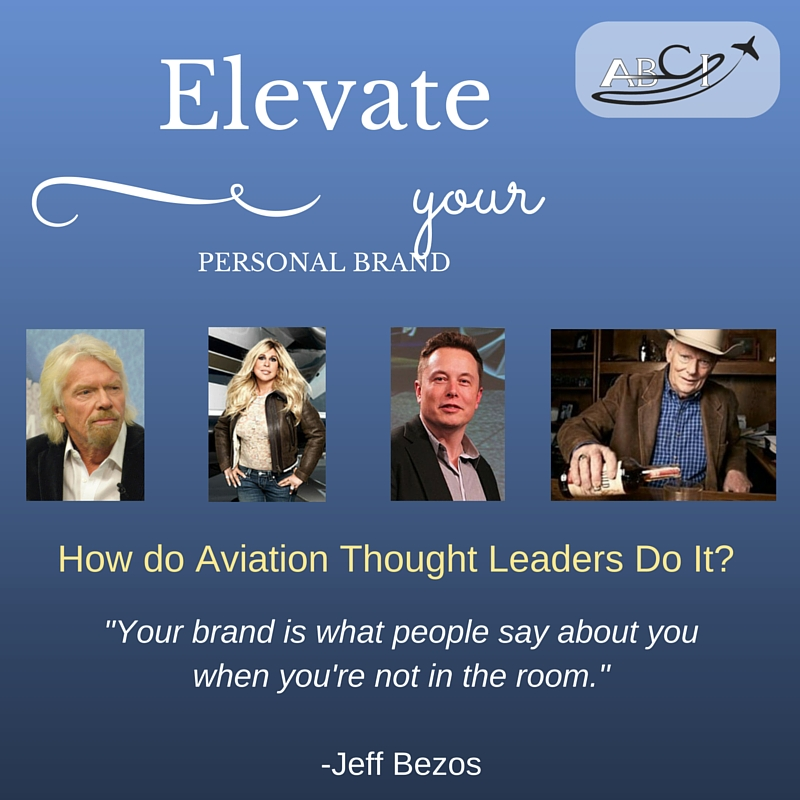 Aviation Thought Leaders - Personal Branding