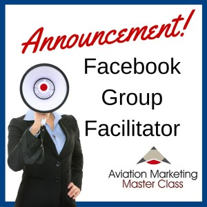 Announcement - Facebook Group Facilitator