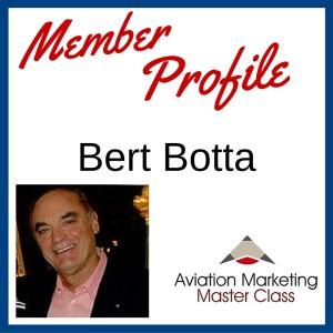Member Profile - Bert Botta Aviation Copywriter