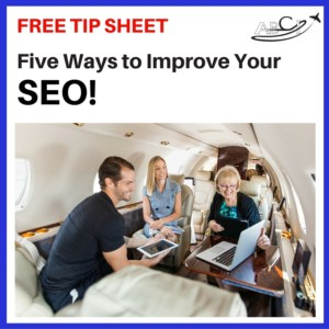 SEO Tip Sheet Ad - Getting attention on the web