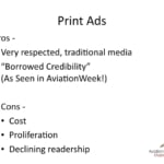 Best advertising media - International aviation advertising