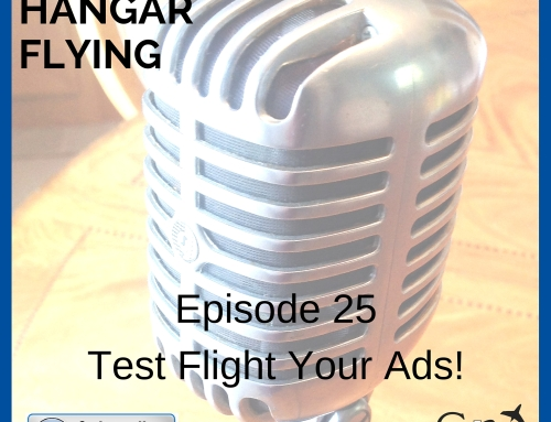 AMHF 0025 – Advertising Test Flights with Jeff Stodola