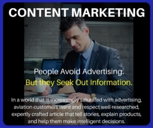 Aviation Articles - Content Marketing