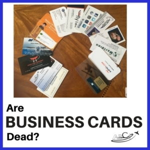 Aviation Business Cards - Dead?
