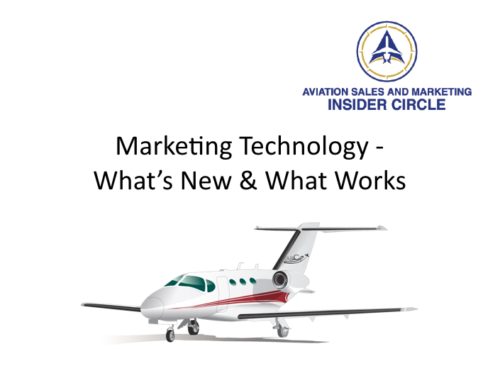Webinar – Marketing Technology – What's New and What Works in 2016