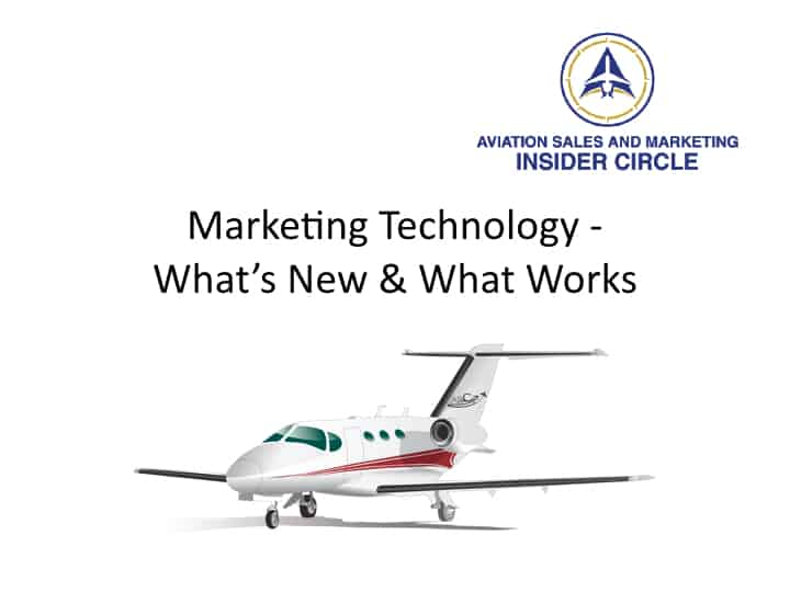 Webinar - Marketing Technology - What's New and What Works in 2016