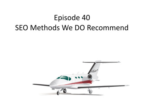AMHF 0040 – SEO Methods we DO Recommend!