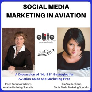 Aviation social media marketing - Kim Walsh Phillips
