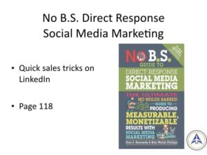 Book Club Discussion - No BS Social Media Marketing - Sales tricks on LinkedIn