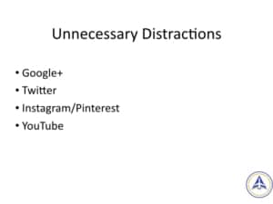 Book Club Discussion - No BS Social Media Marketing - Four Unnecessary Distractions