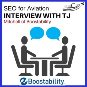 Improve organic search - SEO for aviation- TJ Interview