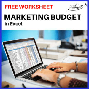 download our aviation marketing budget in excel