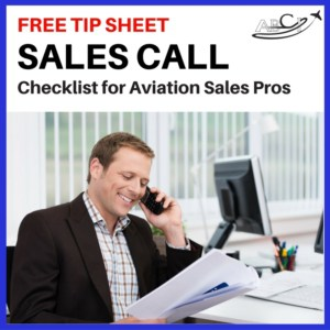 Sales Call Checklist ad