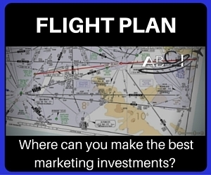 Aviation marketing flight plan product