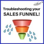 Troubleshooting sales funnel