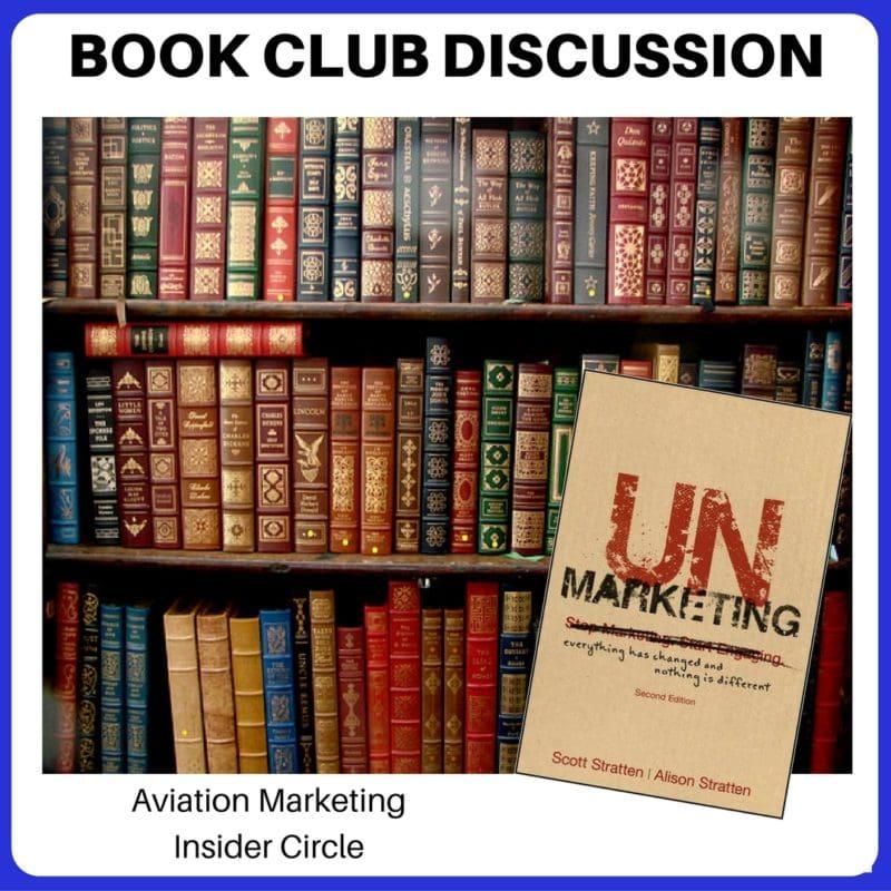 Book Club Discussion - UnMarketing