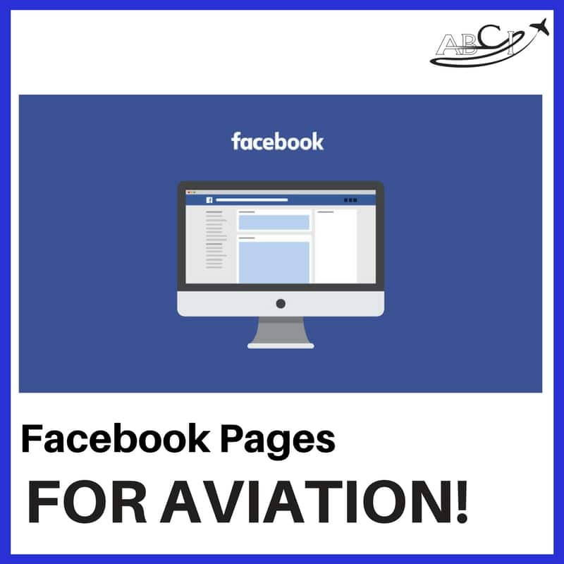 Facebook Pages for Aviation