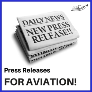 press releases for aviation