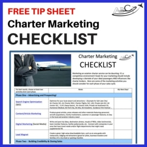 Charter Marketing Checklist