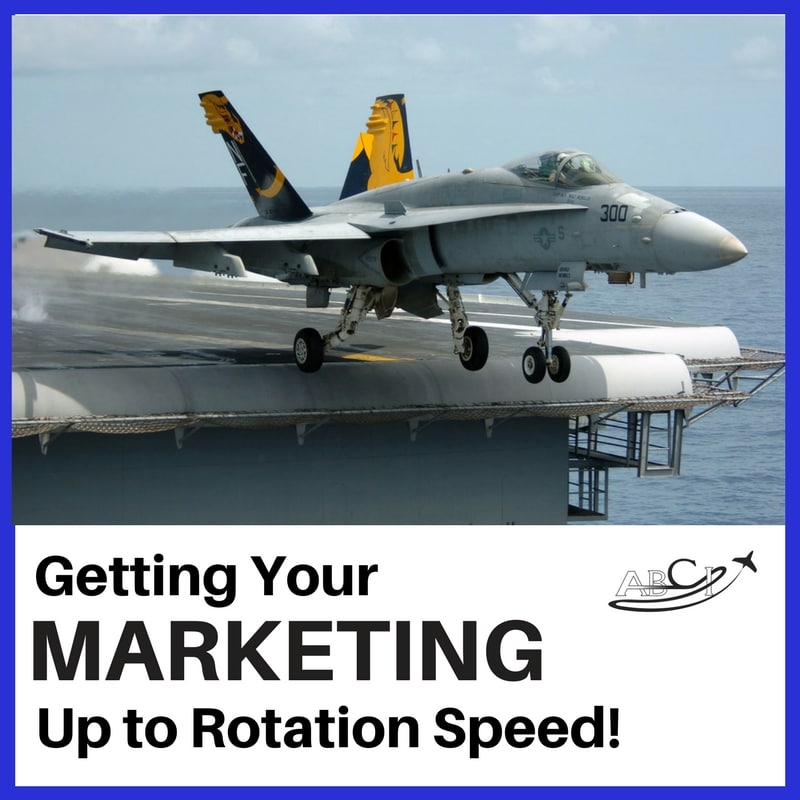 Getting your marketing process to rotation speed