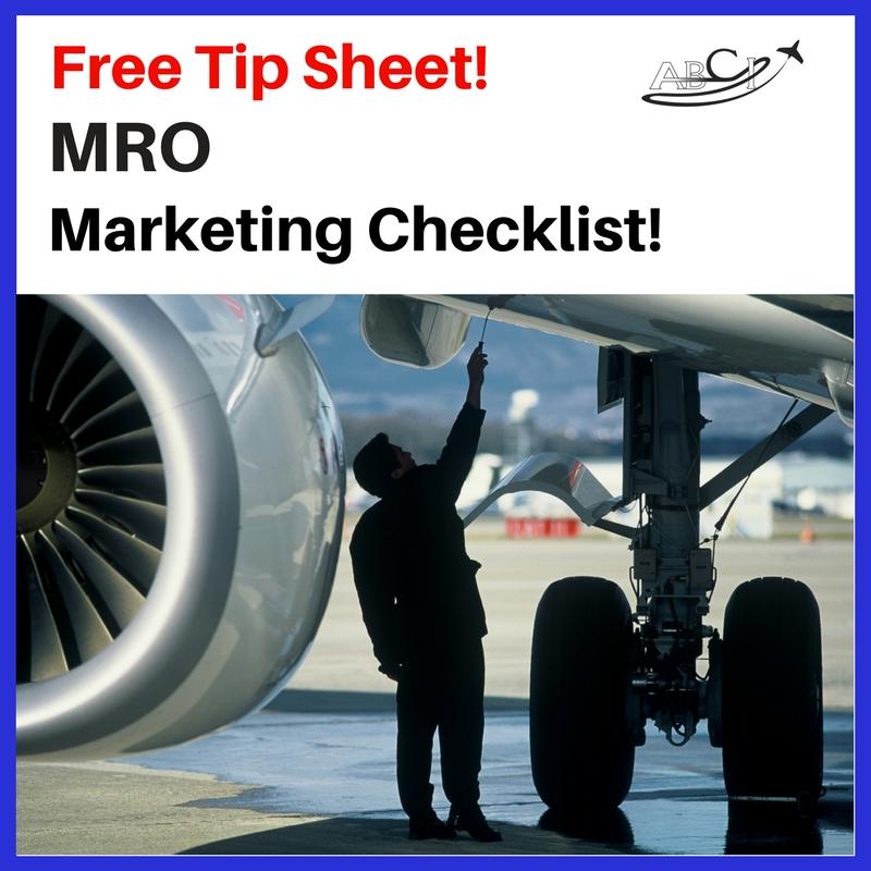 MRO Marketing Checklist Squre