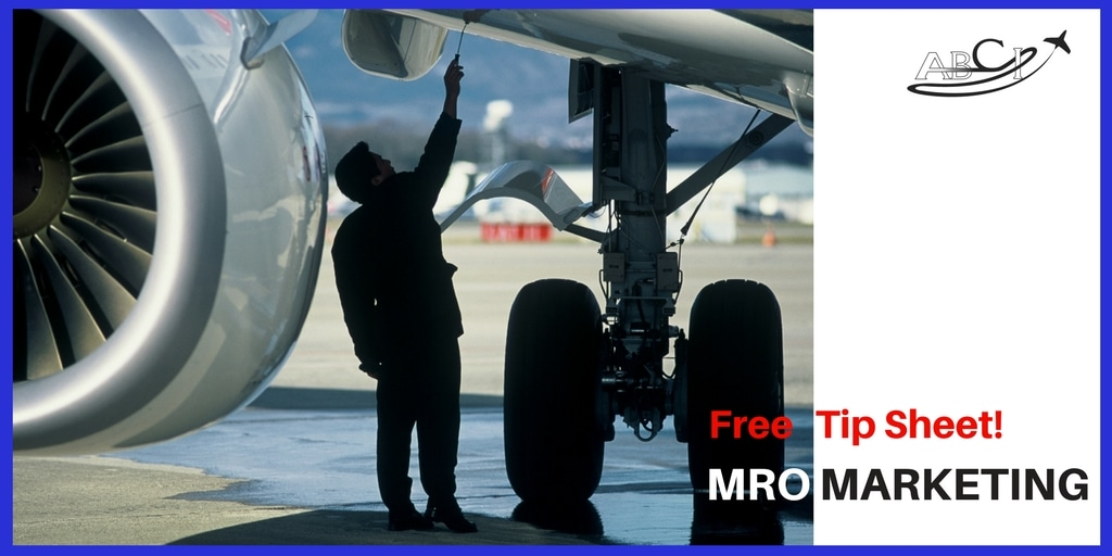 Mro Marketing Aircraft Service Repair Marketing Aviation