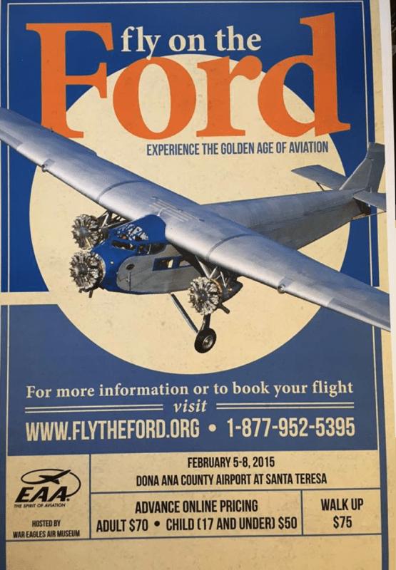 Ford Trimotor VIntage Poster