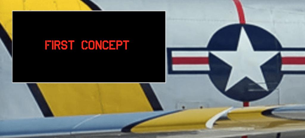 Aviation Furniture- F-86 Sabre Console