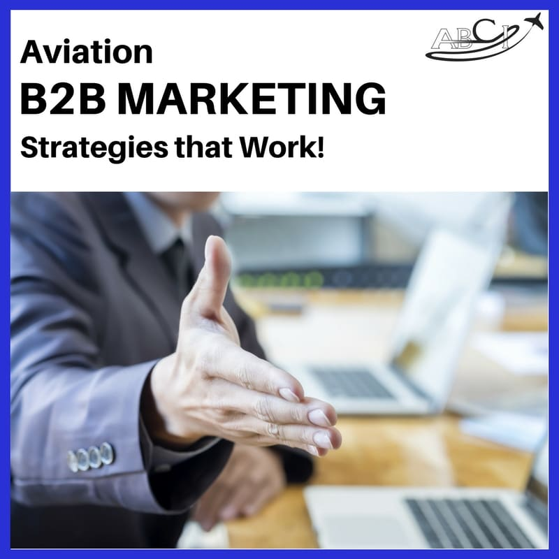 Aviation B2B Marketing Strategies