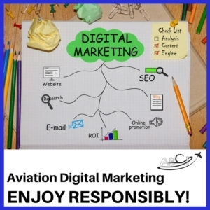 Aviation Digital Marketing - Enjoy Responsibly